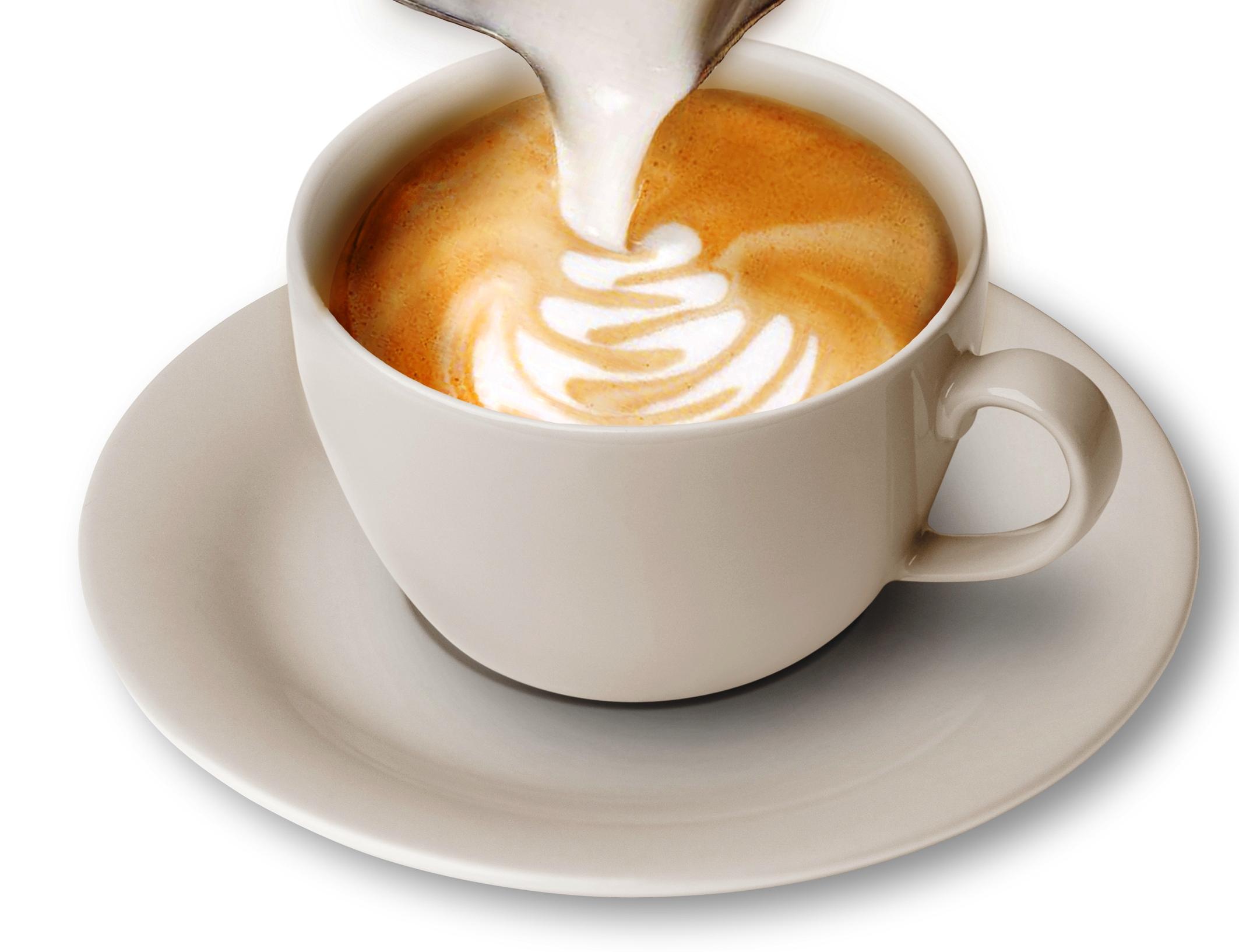 Кофе с шапочкой из пены