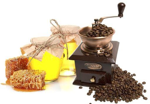 Сочетание кофе и меда