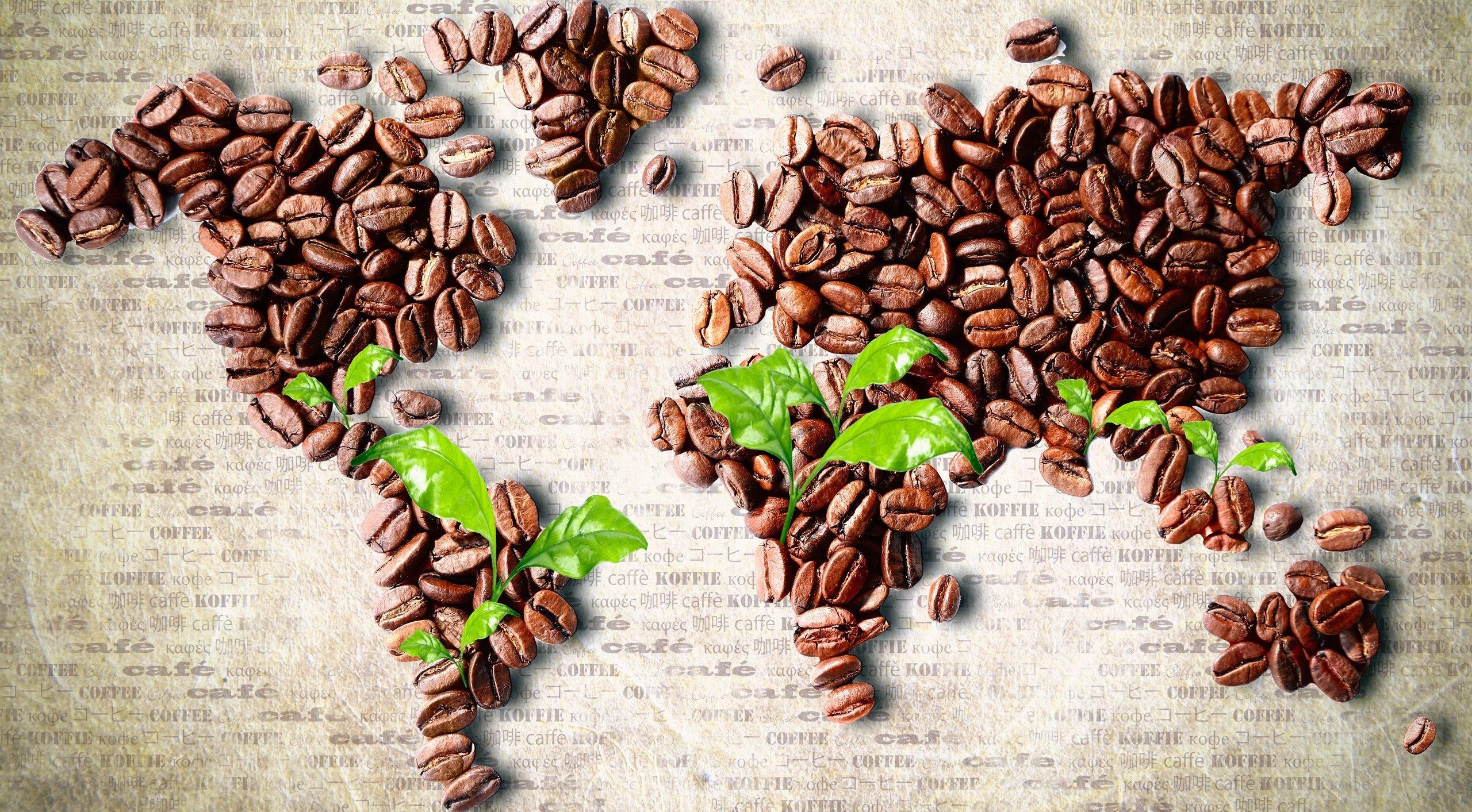 География кофе