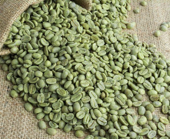 Цвет зеленого кофе