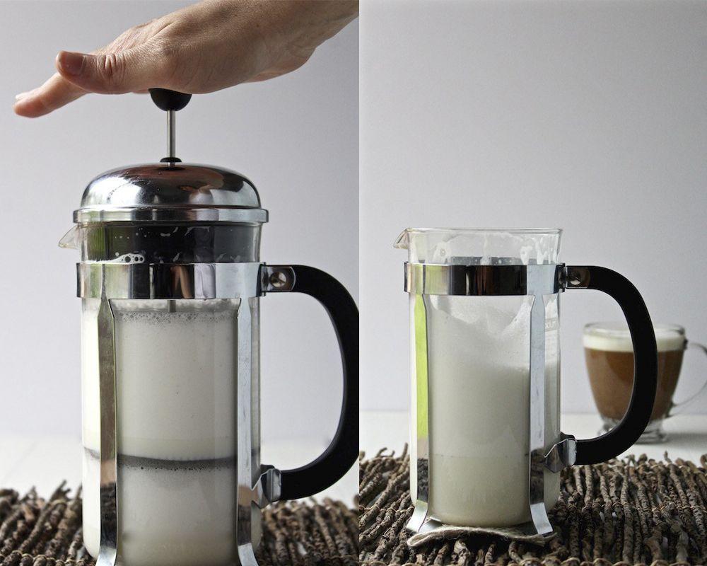 френч-пресс для взбивания молока