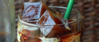 кофе со льдом