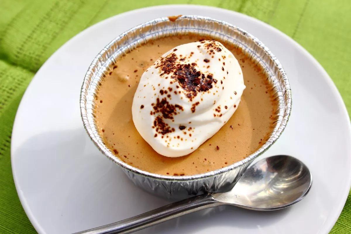 десерт кофе по-баварски