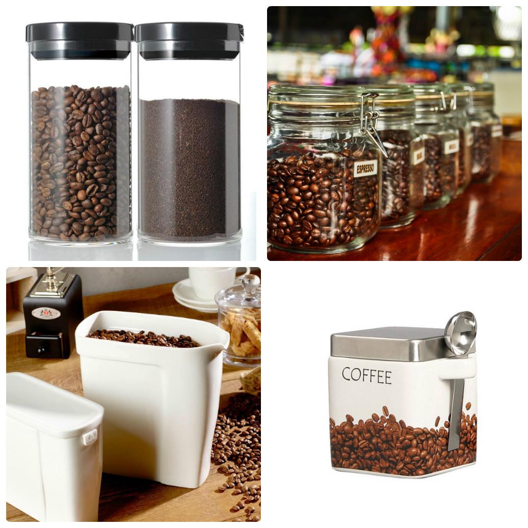 Емкости для хранения кофе