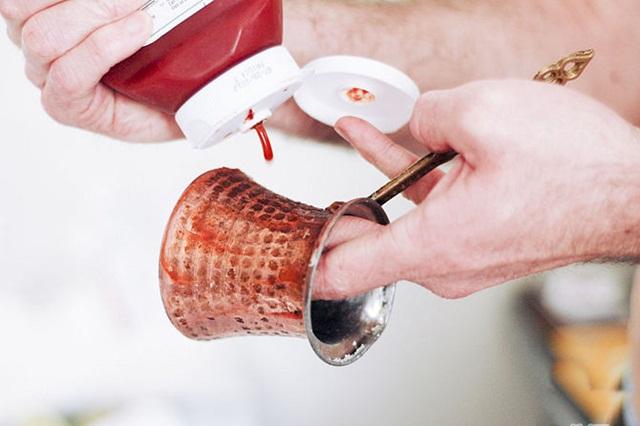 Кетчуп для чистки турки