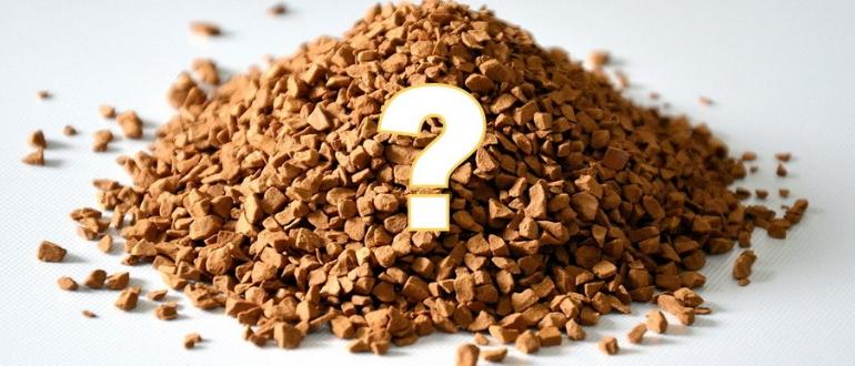 калорийность и состав растворимого кофе