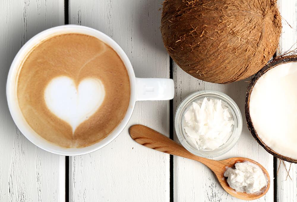 капучино на кокосовом молоке