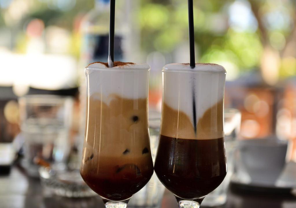 кофе фредо капучино