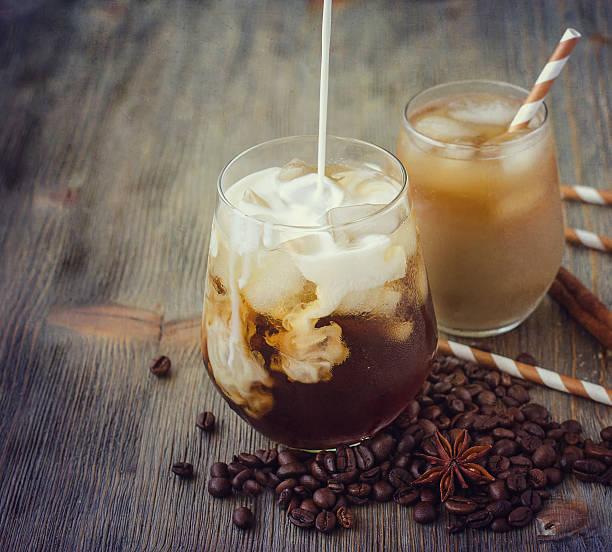 холодный кофе латте