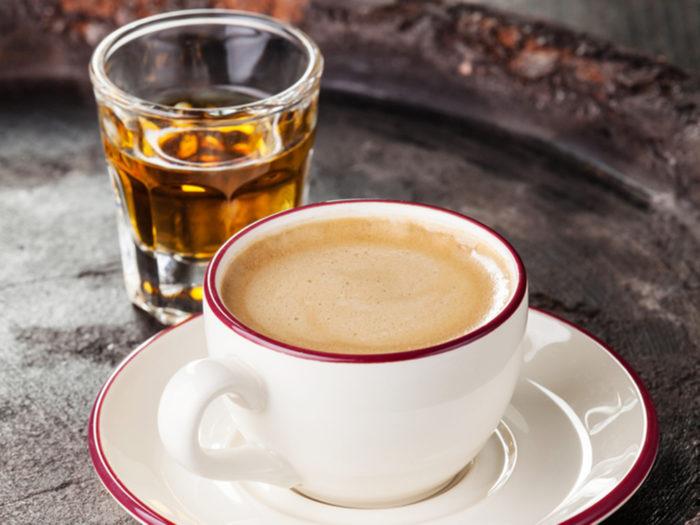 классический рецепт кофе амаретто