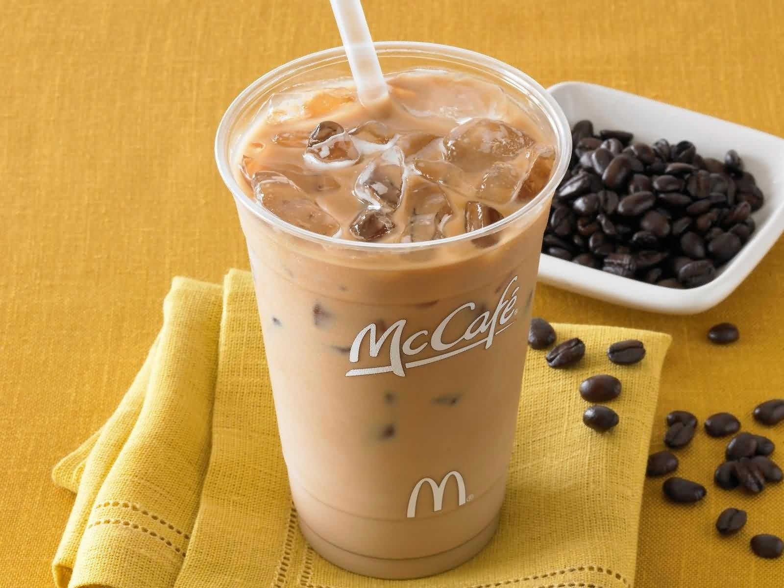 кофе в макдональдс