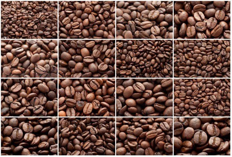 размер кофейного зерна