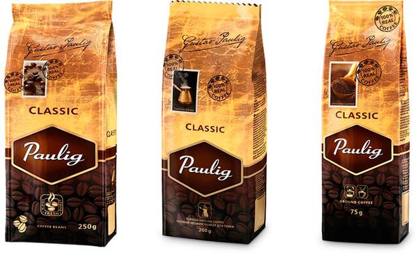 кофе паулиг классик