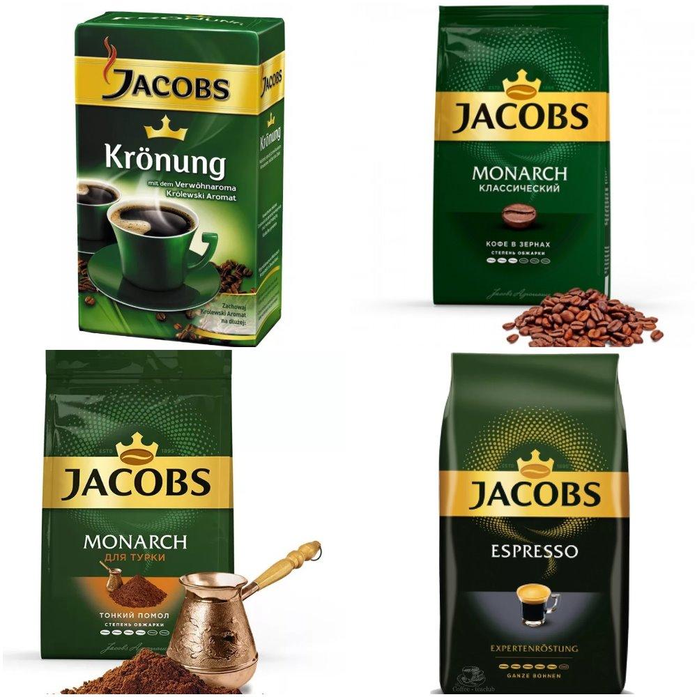 натуральный кофе якобс